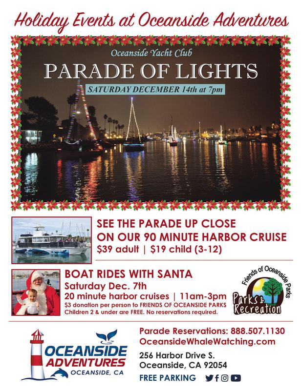 Oceanside Harbor Christmas Boat Parade Of Lights 2020 2019 Parade of Lights   OCEANSIDE CHAMBER OF COMMERCE